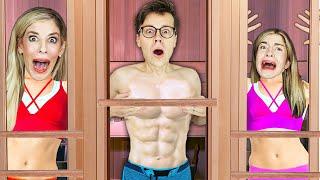 Trapped in a Sauna For 24 Hours - Best Friend Voice Reveal | Matt and Rebecca