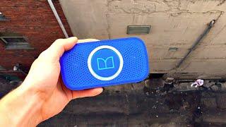 What Happens to Monster bluetooth Speaker from 100ft drop? -WillitBREAK?