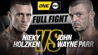 Nieky Holzken vs. John Wayne Parr   ONE Championship Full Fight