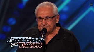 Frank The Singer 74YearOld Channels <b>Frank Sinatra</b>  Americas Got Talent 2014