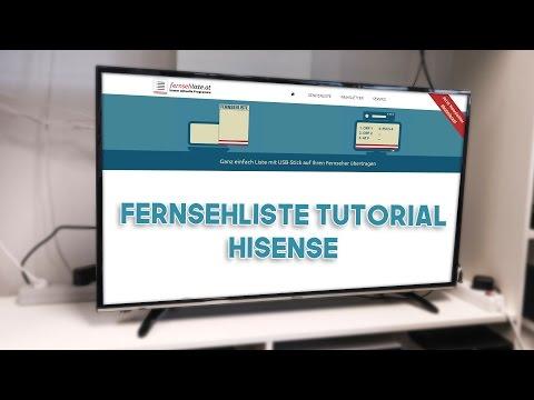 HISENSE TV - Fernsehliste installieren