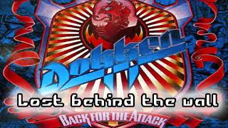 Dokken - Lost behind the wall