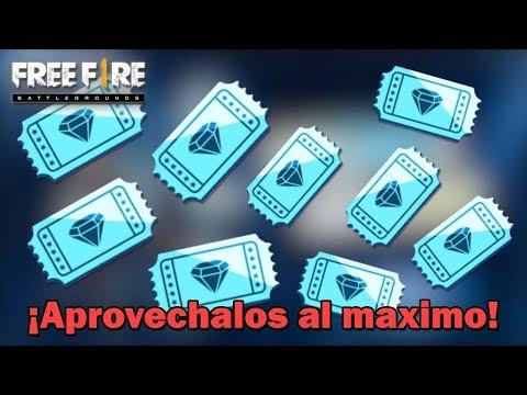 TICKET DE DIAMANTE CUANDO DEBES USARLO?  | Free Fire | Esteban Gonzalez