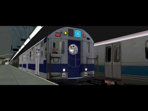 OpenBve Continental Avenue Bound R32 Pre-GOH EE Train At