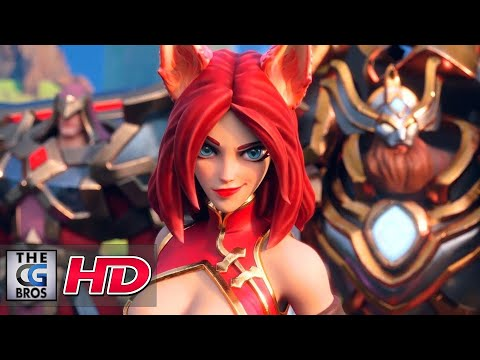 """CGI 3D Animated Trailers: """"Dungeon Hunter Champions"""" – by Puppetworks"""