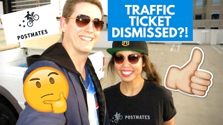 POSTMATES UPDATES and HOW TO GET A SPEEDING TICKET DISMISSED – TRAFFIC TICKET DISMISSAL