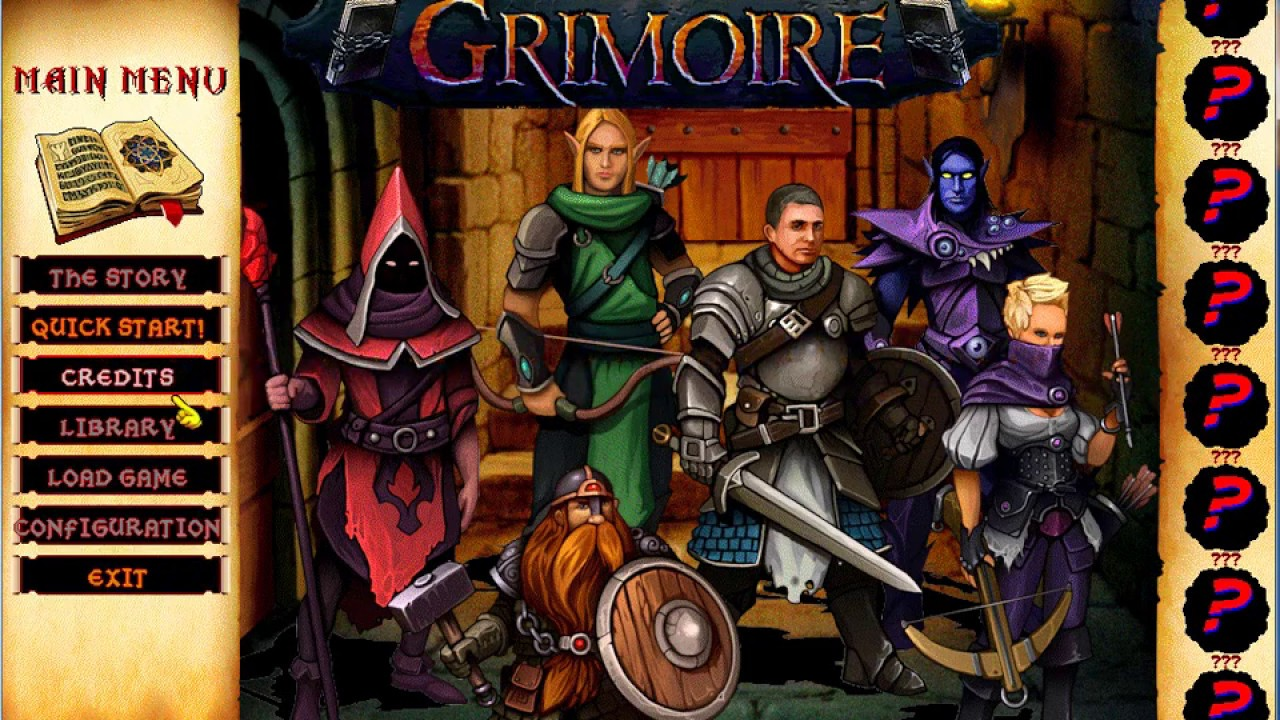 After Decades Of Development, Retro RPG 'Grimoire' Is On The Cusp Of Release