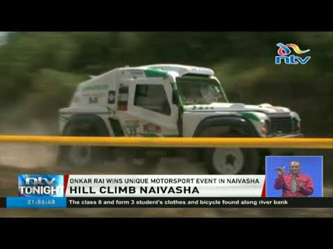 Onkar Rai wins hill climb motorsport event in Naivasha