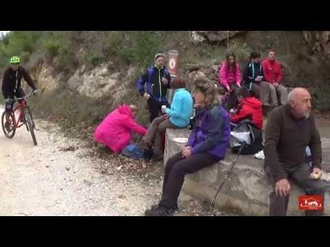 Ruta Groga : Bèlgida - Font Freda (Vall d'Albaida) Corresendes XRS
