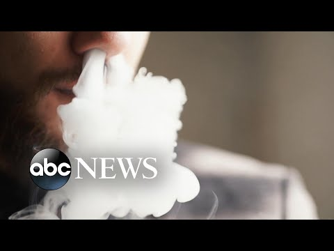 Teens' hospitalization possibly linked to vaping