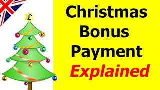 When is christmas bonus paid 2019