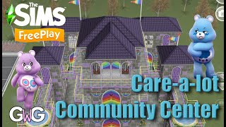 The Sims Freeplay- Care-a-lot Community Center Tour