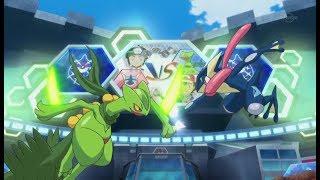 Pokemon XYZ - Trận đấu Khủng khiếp nhất của Satoshi, Satoshi Gekoga VS Mega Trukey !!!