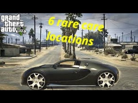 6 Rare Car Locations In Gta 5 Story Mode