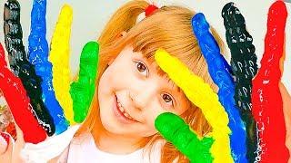 Играем с куклой Беби Бон и НАСТЮШИК играет с куклой для девочек Learn Colors with Baby  Song