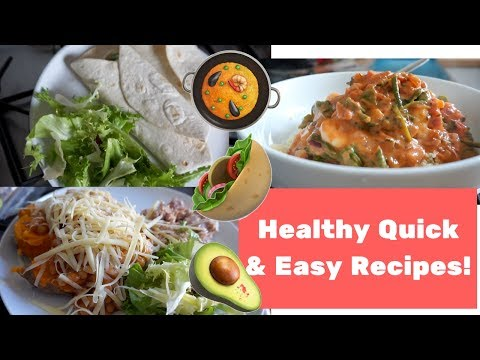 Video 10 minute healthy recipes | Quick & easy meals! | Getting the Peach to the Beach Ep. 4!