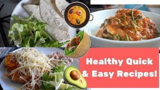 10 minute healthy recipes | Quick & easy meals! | Getting the Peach to the Beach Ep. 4!