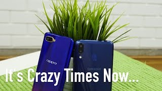 Fight in the Indian Smartphone Market - Crazy Times!