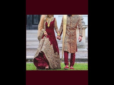 Download Indian Bride Groom Lehengas- Sherwanis Designs 2016-2017 | Zikimo.Com HD Video