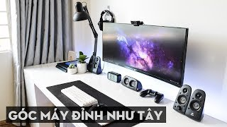 Những góc máy (chơi game) đẹp nhất Việt Nam tháng 06/2018: Tự làm máy PC All-IN-ONE TẠI NHÀ???