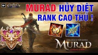 Murad Cực Ảo Diệu Hủy Diệt Team Bạn Quá Dễ Dàng | Mạnh Blue