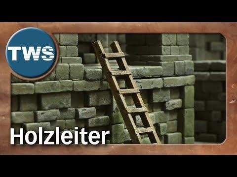 Tutorial: Holzleiter / wooden ladder (Tabletop-Gelände, TWS)