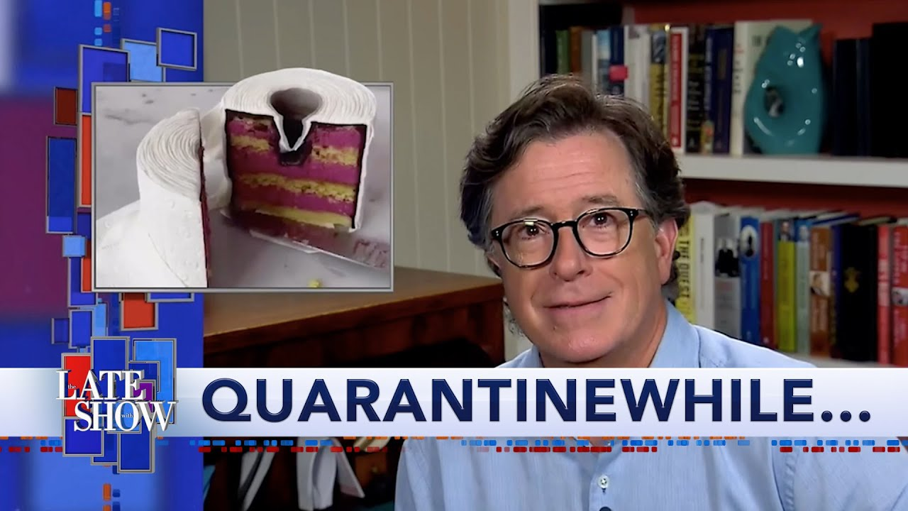 Meanwhile... A Late Show Is Cake thumbnail