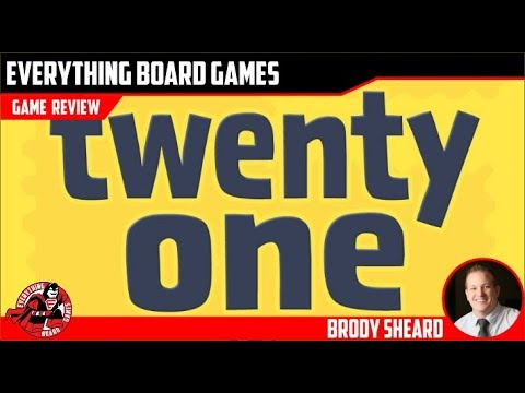 Everything Board Games Twenty One Review