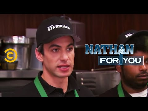 , title : 'Nathan For You - Dumb Starbucks - Open for Business