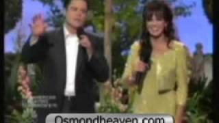 "DONNY AND MARIE SINGIN' ""LOVE IS A WONDERFUL THING"" (VIDEO)"