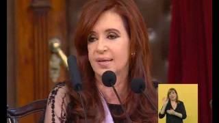 Visión Siete Asunción Presidencial Cristina Defendió Un Proyecto Profundamente Democrático