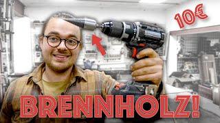 Kennst du dieses Werkzeug? So zerkleinere ich Brennholz!