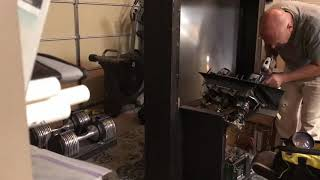 How to disassemble Rear Projection TV and get Fresnel Lens