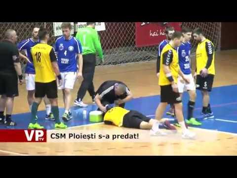 CSM Ploiești s-a predat!