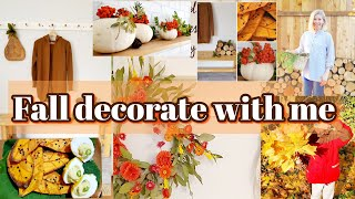 FALL DECORATE WITH ME 2020 DIY fall decor