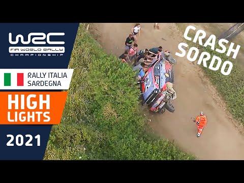 WRC 2021 第5戦ラリー・イタリア SS13-16ハイライト動画