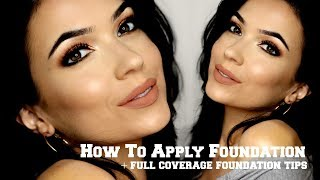 How To Apply Foundation | Simple Makeup Walkthrough | TheMakeupChair