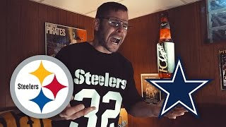 Dad Reacts to Steelers vs Cowboys (Week 10)
