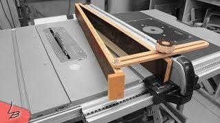 f hrungsschiene f r die handkreiss ge selber bauen der universalanschlag f r gerade schnitte. Black Bedroom Furniture Sets. Home Design Ideas