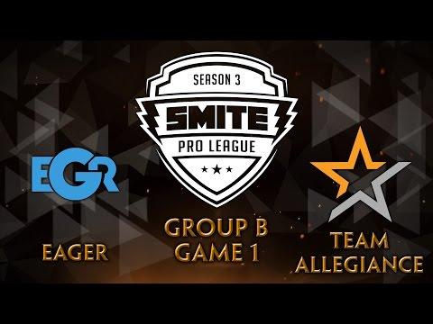 SMITE Pro League Fall Split Group B - Team Eager vs. Team Allegiance (Game 1)