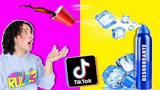 Los Peores y Mejores Hacks de TikTok *ME QUEME LA MANO* 😭