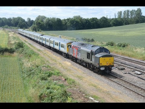 Europhoenix 37884 & Thameslink Long Marston Class 319 Drags …