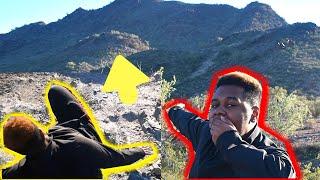 MOUNTAIN CLIMBING IN ARIZONA GONE WRONG (GRAND CANYON?) *i fell