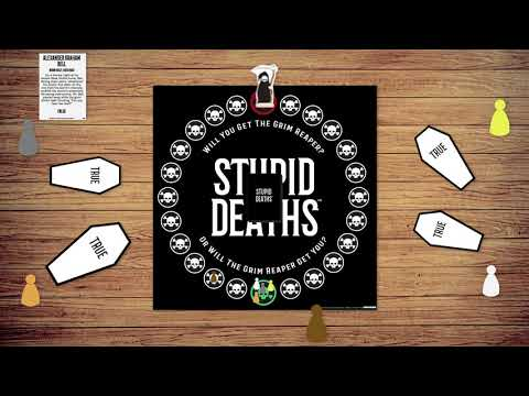 Youtube Video for Stupid Deaths - The Frightfully Funny Board Game
