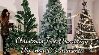 Making My Cheap Christmas Tree Look Expensive | Decorate With Me | Christmas In Germany