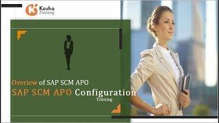SAP SCM- APO Architecture | SAP APO Tutorial for beginners