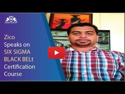 Zico Best Reviews | Six Sigma Black Belt in Delhi 4.8/5 | Henry Harvin