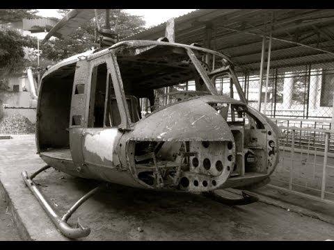 Vietnam War Helicopter and Tank Wrecks