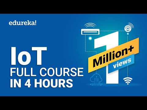 IoT Full Course - Learn IoT In 4 Hours | Internet Of Things | IoT ...