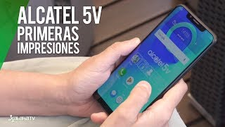 Alcatel 5V, Primeras Impresiones: DISEÑO, NOTCH y DOBLE CÁMARA para la GAMA MEDIA